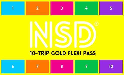NSD 10-Trip Flexi Pass (Gold)