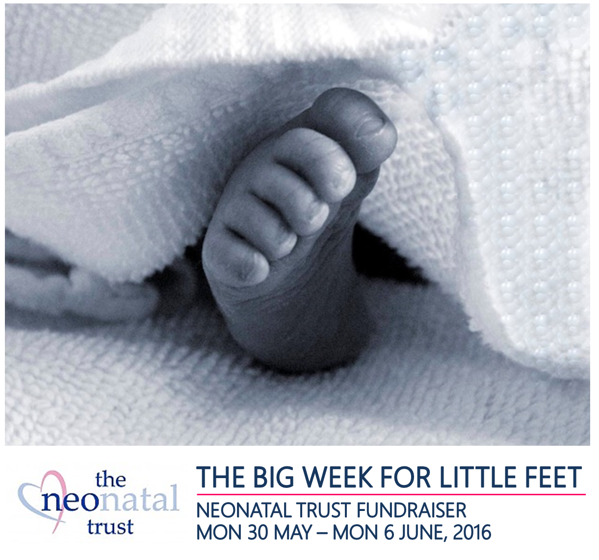 The BIG WEEK FOR LITTLE FEET :)