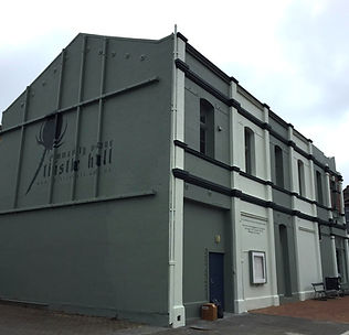 Thistle Hall, venue for morning NSD classes, Wellington