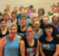 Never Stop Dancing class at Thistle Hall in Wellington