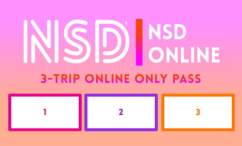 NSD ONLINE ONLY 3-TRIP PASS