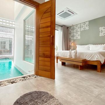 Pool Access Suite Entrance View