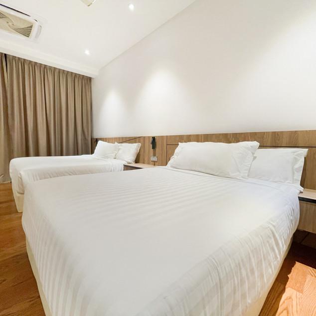 2-Bedroom Residence Bedroom