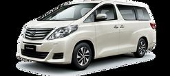 TOYOTA ALPHARD (A): We provide car rental in Langkawi / Kami menyediakan kereta sewa di Langkawi.
