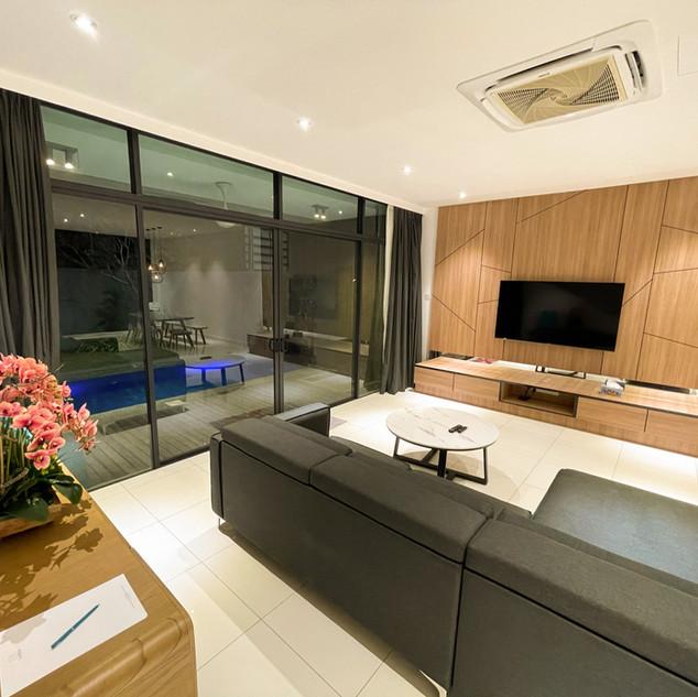 2-Bedroom Residence Living Room