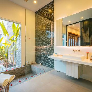 Private Pool Bathroom