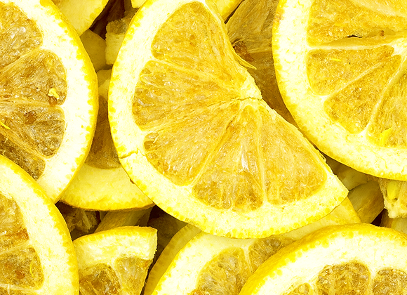 Freeze Dried Organic Lemons