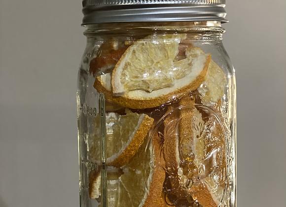 Dried Oranges (Quart Jar Size)