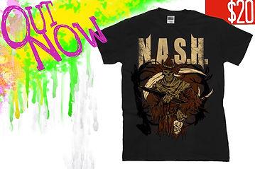N.A.S.H., October Shirt