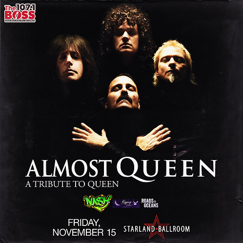 N.A.S.H. with Almost Queen Ticket