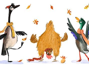 Autumn Birds