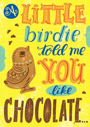 Chocolate Chick