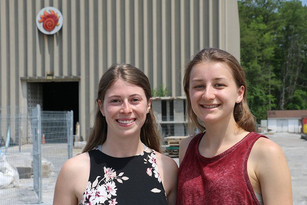 Bryanna and Jacquelyn featured by McMaster Engineering