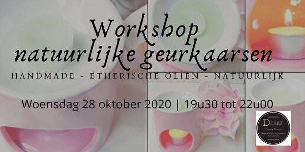 Workshop natuurlijke geurkaarsen