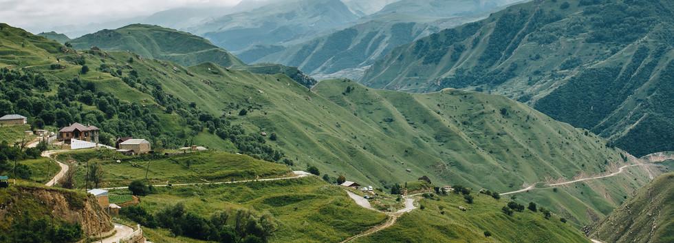 Гуниб - село высоко в горах