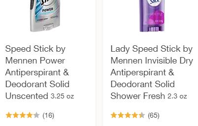 FREE Speed Stick Deodorant at Walgreens