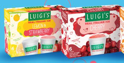 FREE Luigi Italian Ice at Harris Teeter