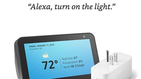 Amazon Echo Show + Smart Plug $49.99 (Reg. $114.98)