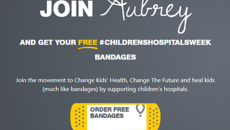 Free Bandages from Childrens Miracle Network