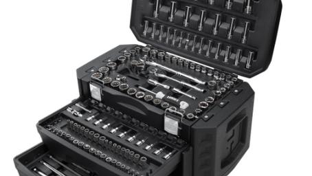 HART Multiple Drive 215-Piece Mechanics Tool Set $98