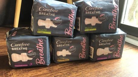 5 Carefree Breathe Pads FREE at Kroger