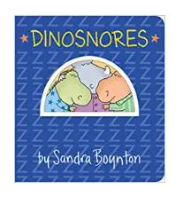 Dinosnores Board Book $2.50