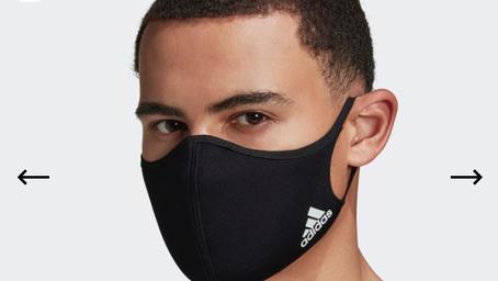 Adidas Face Mask $16 + Free Shipping