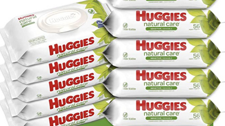 10 Packs of Huggies Wipes for $11.19 on Amazon
