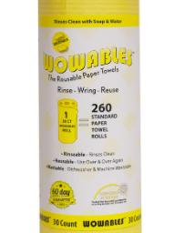 FREE Wowables Reusable Paper Towel Sheet Sample