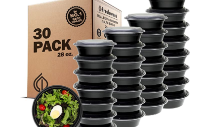 30 Pack Meal Prep Containers $12.99