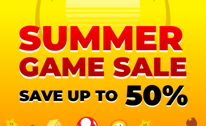 Nintendo Summer Sale (Up to 50% off)