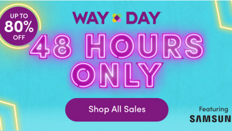 Wayfair Biggest Sale of the Year! Up to 80% off + Free Shipping on Everything!