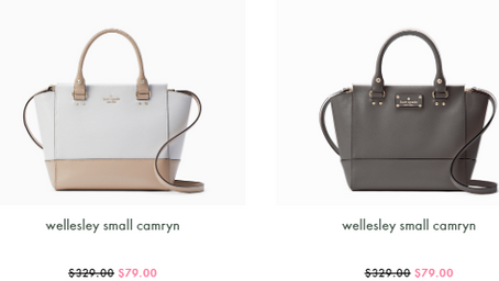 Kate Spade Deal of the Day - $79 (Reg. $329)