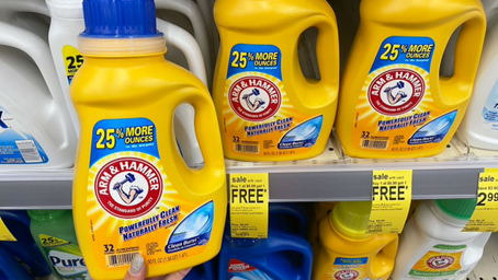 Walgreens Deal of the Week - Buy 1 Get 2 Free Arm and Hammer Detergent only $5.99