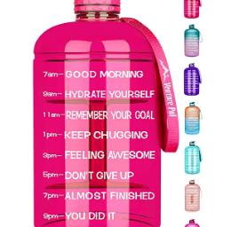 Motivational 1 Gallon Water Bottle $12.59