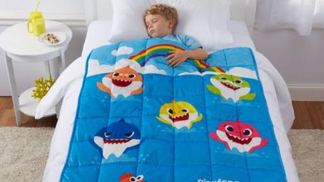 Baby Shark Weighted Blanket $14.97 (Reg $49.99)