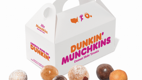 Free Munchkins from Dunkin through DoorDash