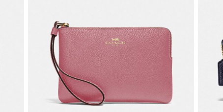 Up To 70% Off Coach Wristlets