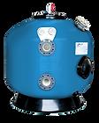 Filtro Comercial Bobinado de fibra de vidrio. Disponible de 1200mm-3000 mm diámetro con opcionales