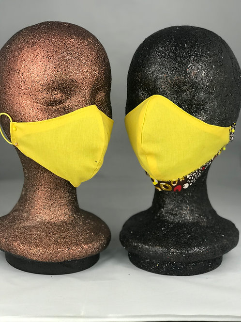 Yellow Rays - Mask w Options