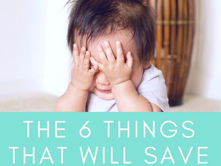 6 things that saved my sanity
