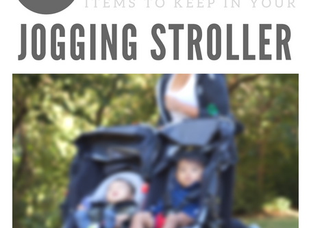 8 items to keep in your jogging stroller