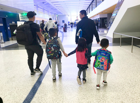Travel Tip: What to keep in kids carry on