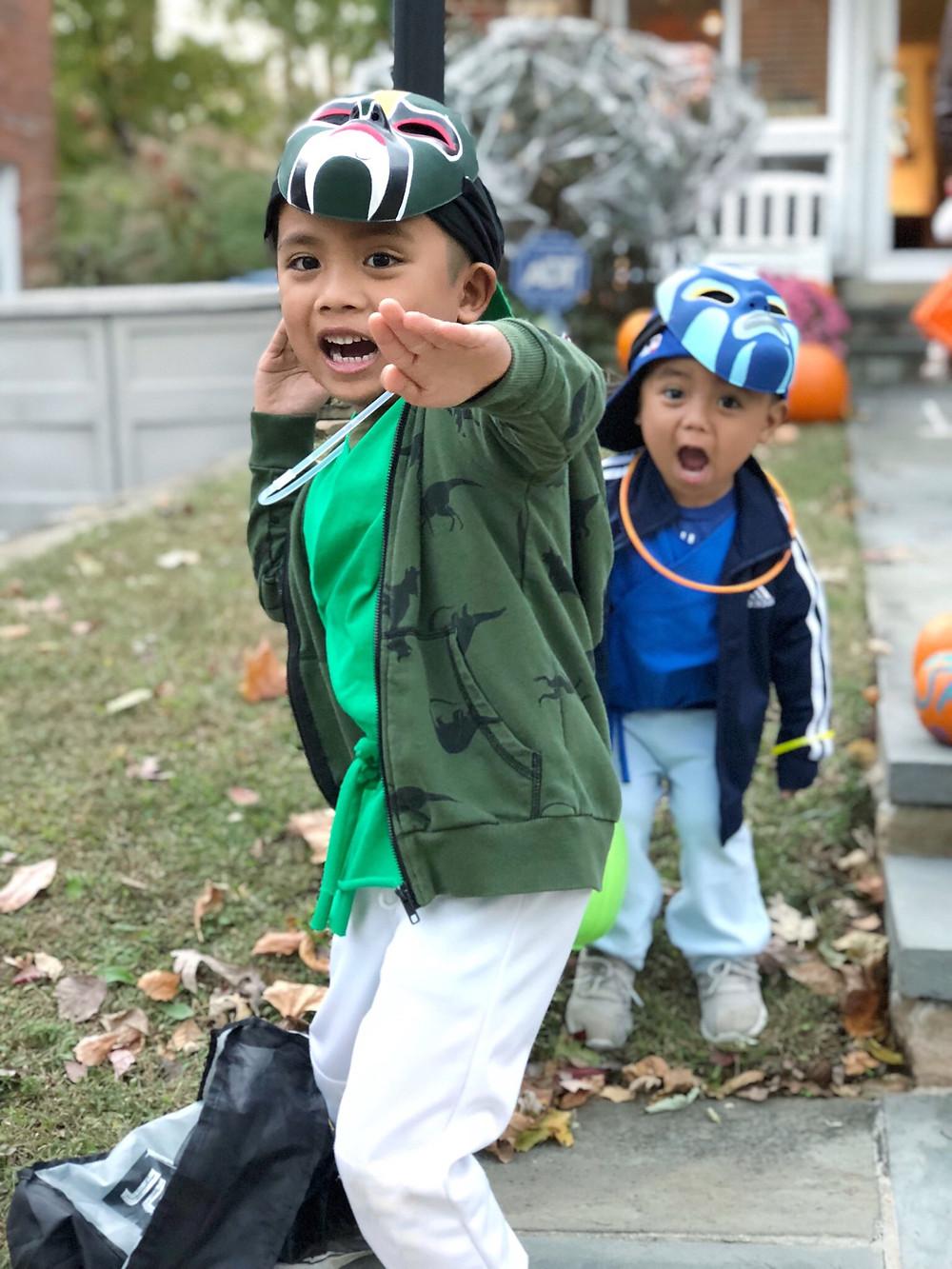 three ninjas costume