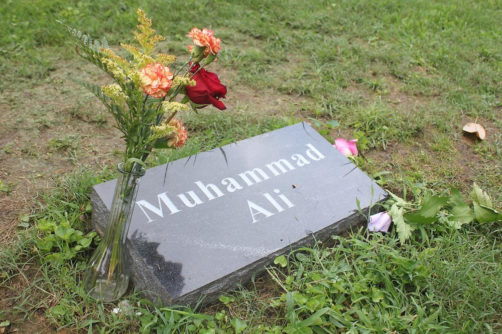 Sunny in June - Big Kids Go Play: Muhammad Ali's Grave