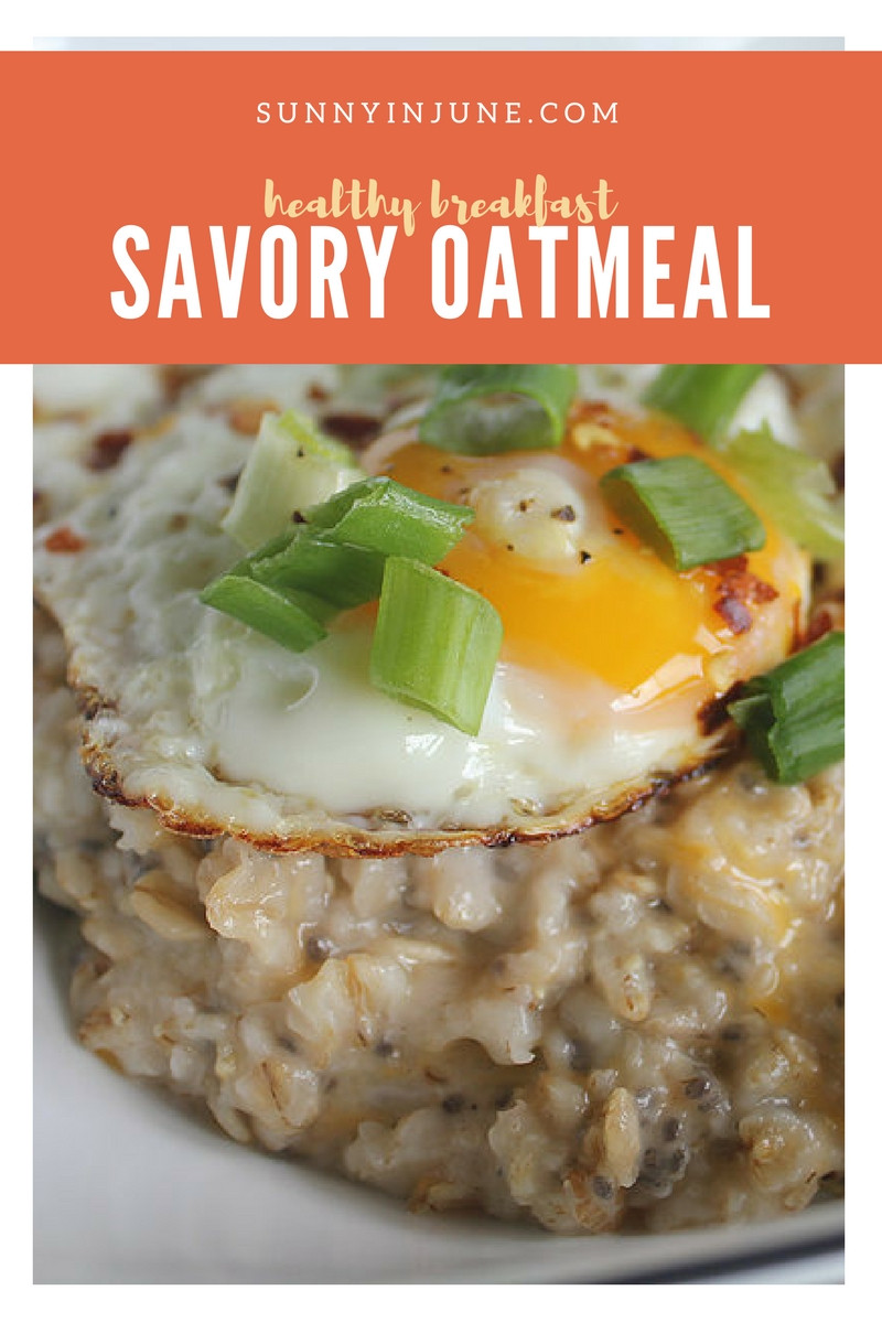savory oatmeal - switch up your sugary sweet breakfast routine with this savory dish that will keep you feeling full for hours!