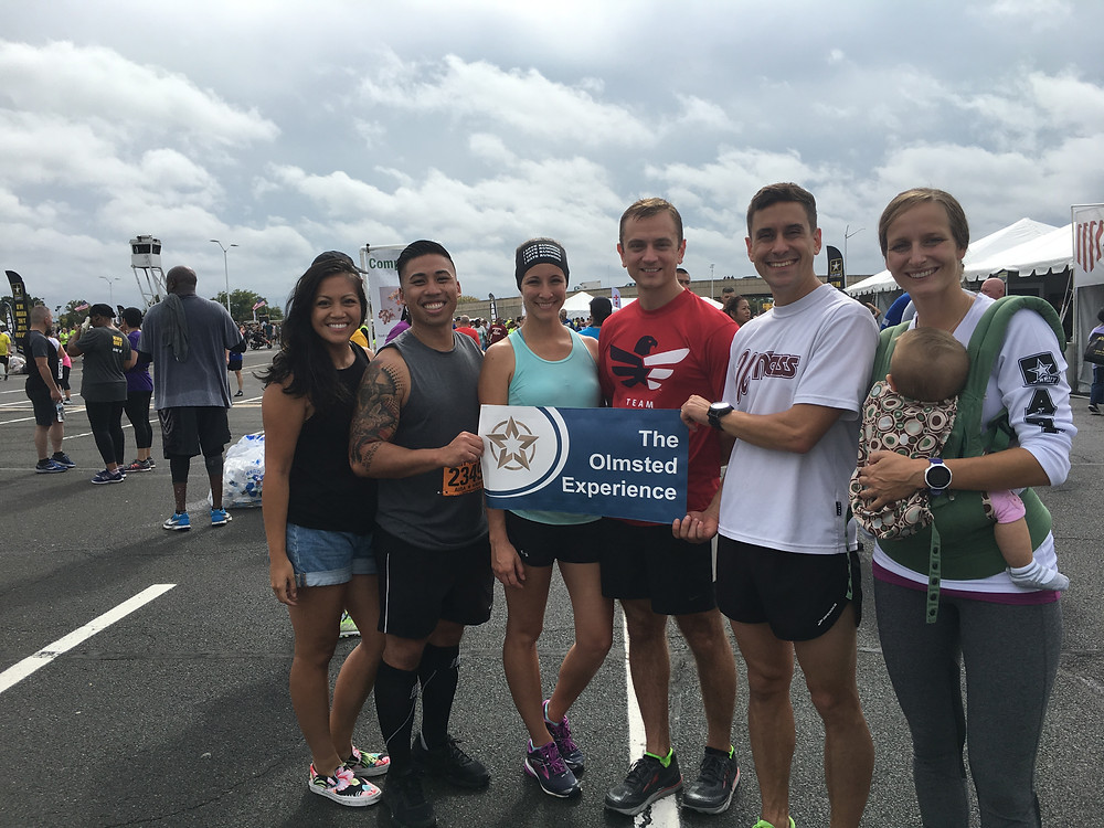 A few Olmsted Scholars ran the Army 10-Miler