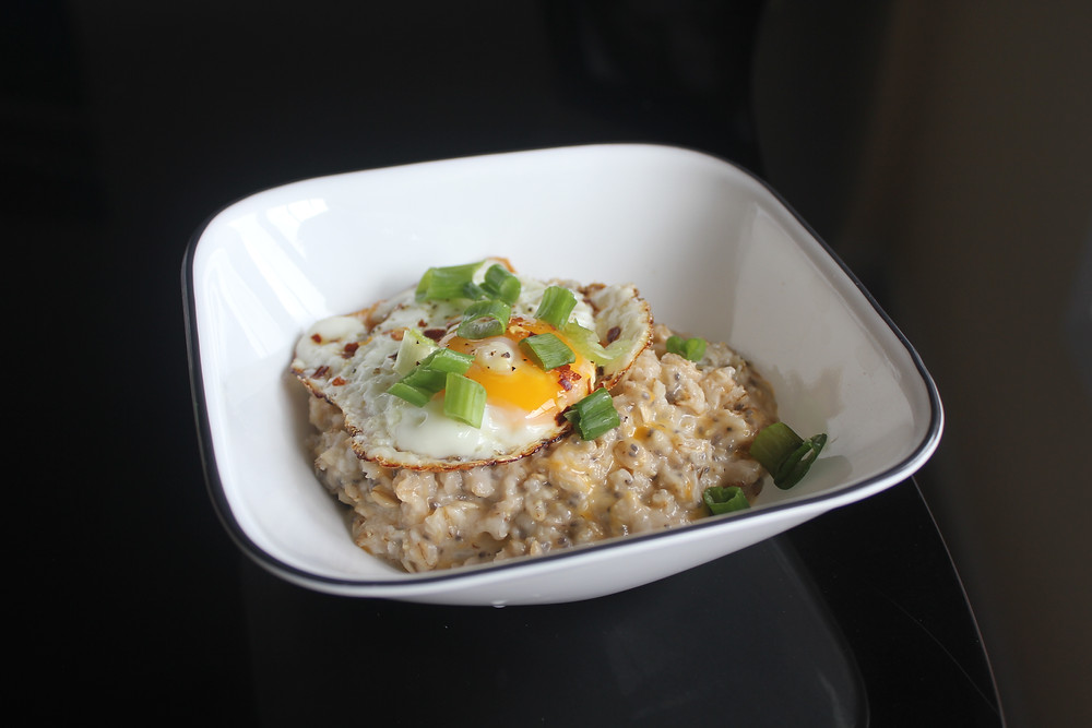 Sunny in June - Savory Oatmeal