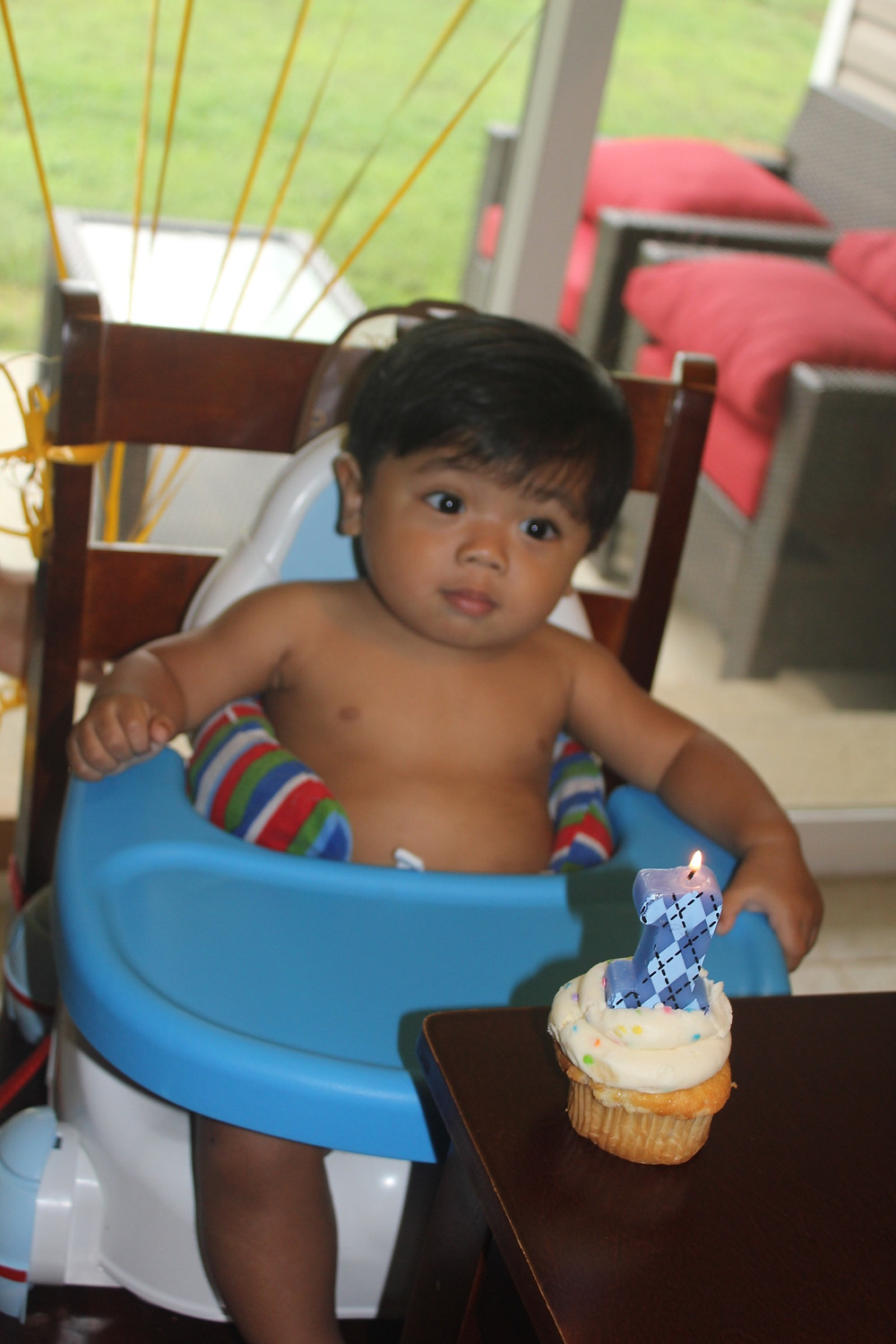 Sunny in June - Isaac turns ONE!