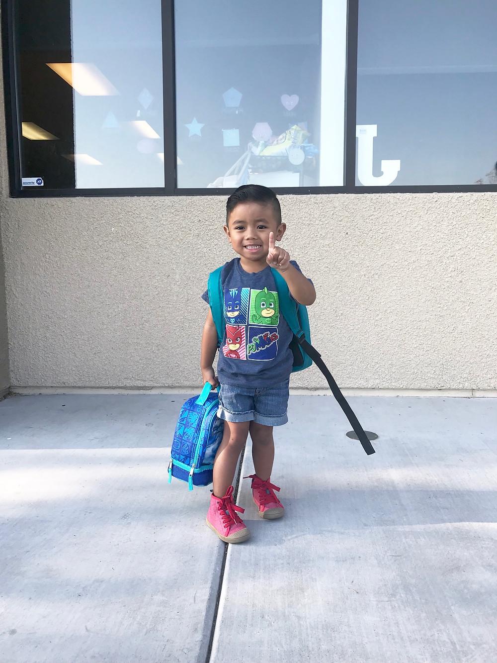 first day of school! // sunnyinjune.com august recap